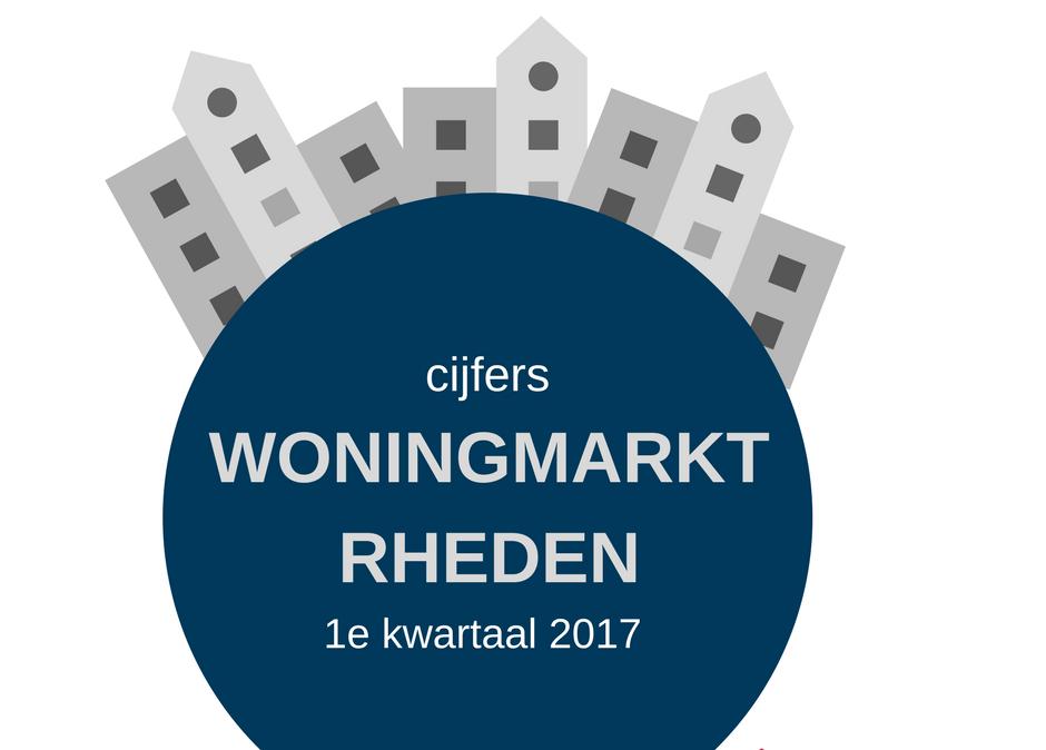 Cijfers woningmarkt 1e kwartaal 2017 gemeente Rheden