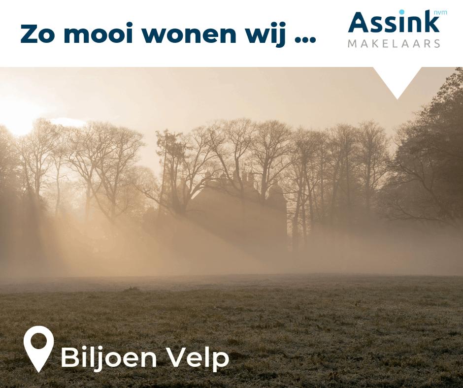 Zo mooi wonen wij op de Veluwe - Biljoen Velp. Assink NVM Makelaars